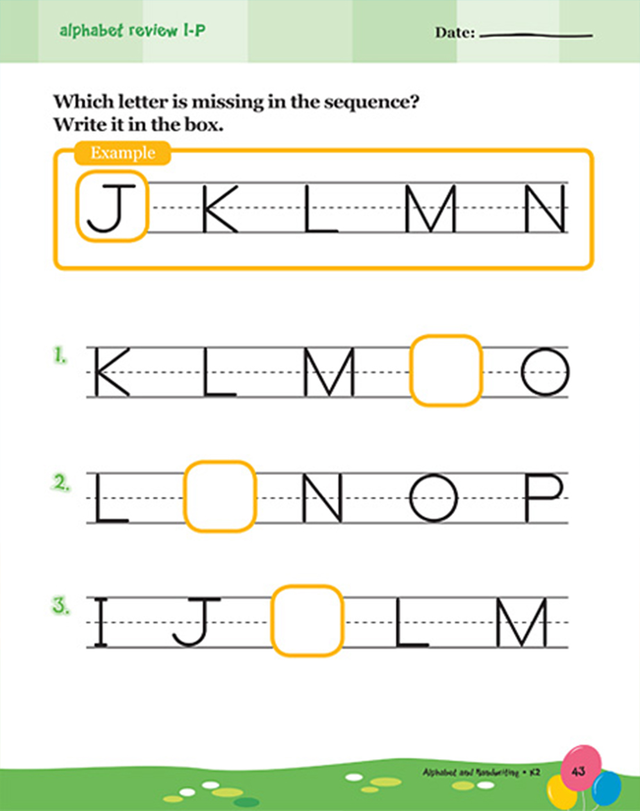 Scholastic Learning Express Alphabet and Handwriting K2