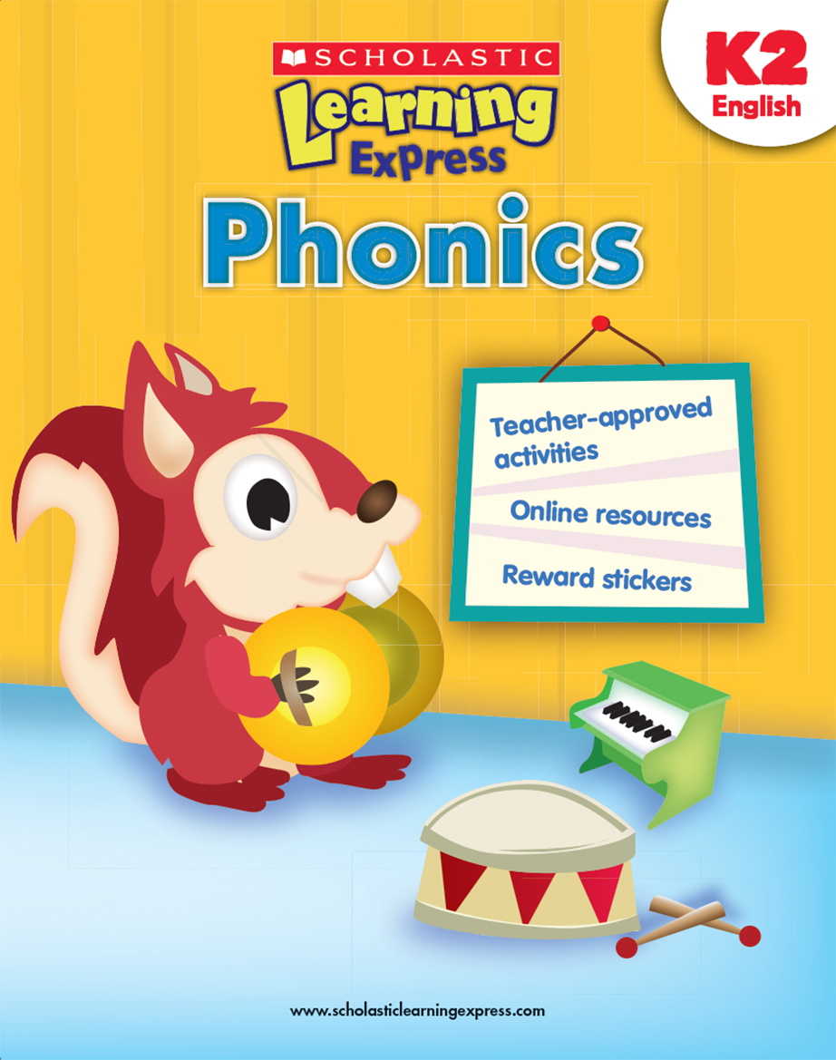 Scholastic Learning Express Phonics K2