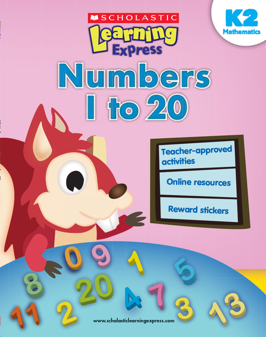 Scholastic Learning Express Numbers 1 to 20 K2