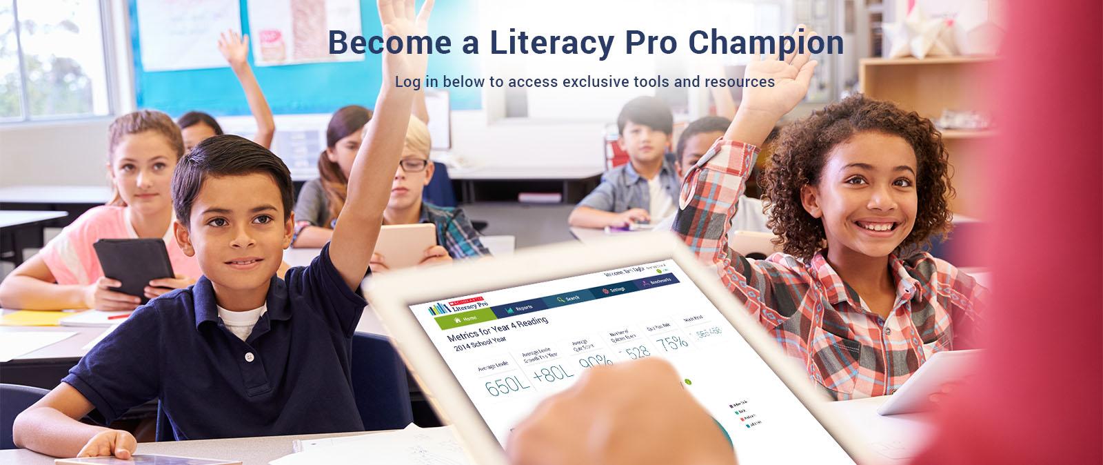 Become a Literacy Pro Champion