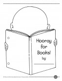 Hooray for Books! A worksheet