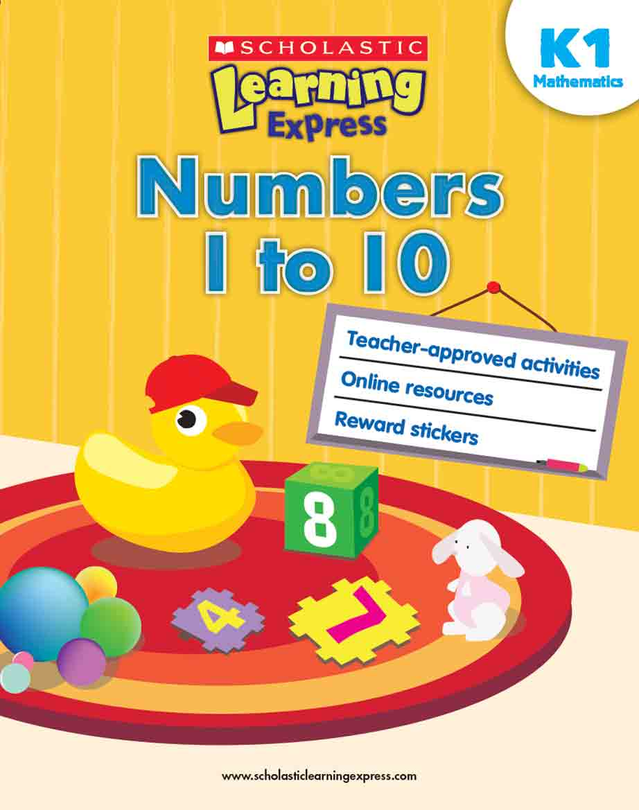 Scholastic Learning Express Numbers 1 to 10 K1