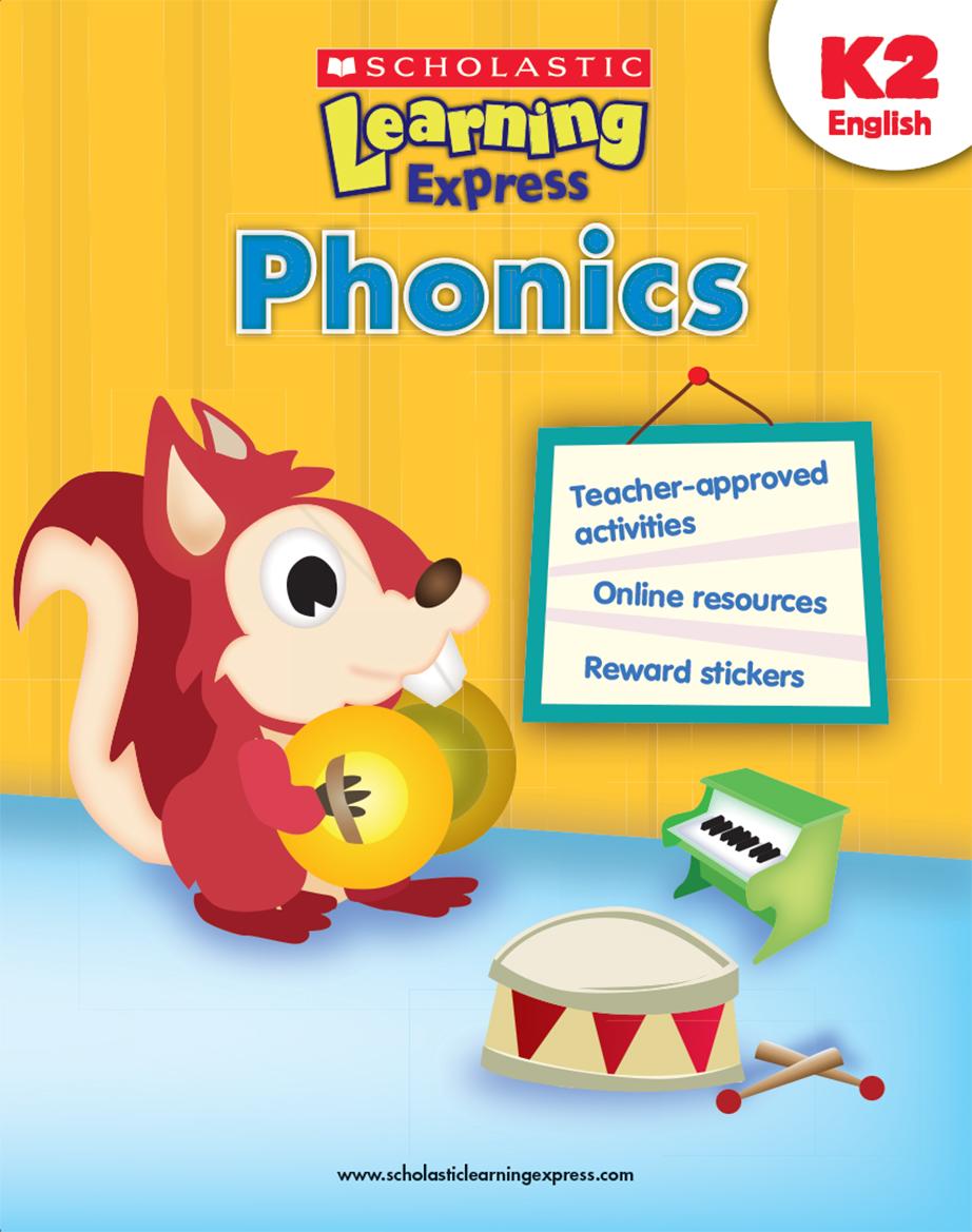 Scholastic Learning Express Phonics K2