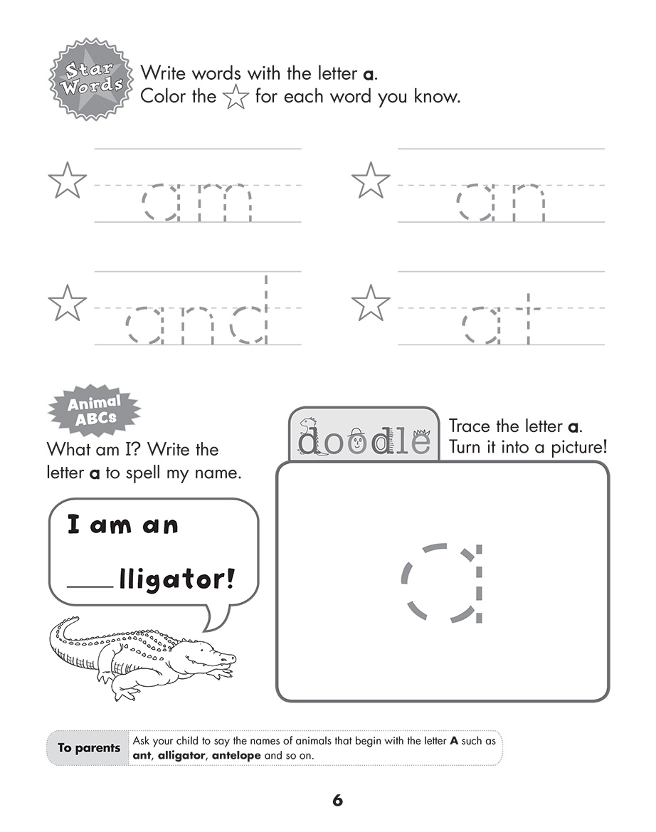 Scholastic Study Smart Letters A to Z K2 | Scholastic Asia
