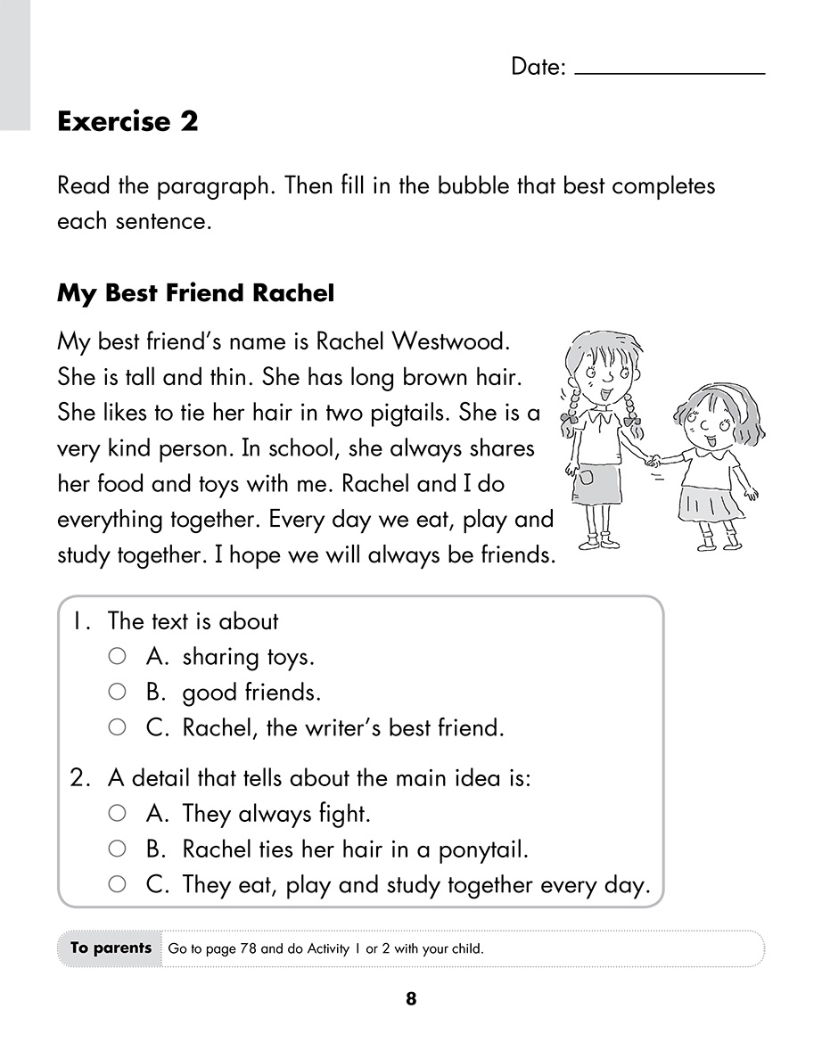 Scholastic Study Smart Comprehension Skills L1