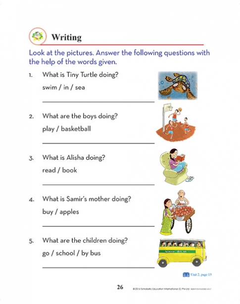 Scholastic Active English | Sample Pages | India
